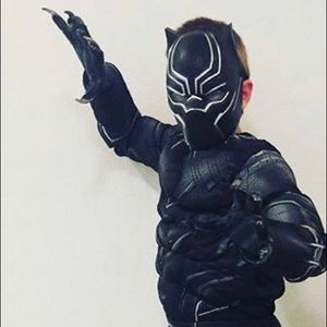 Black Panther Captain America Halloween. Large